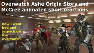 Overwatch Ashe Origin Story and McCree ANIMATED SHORT Reunion