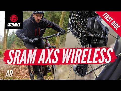 SRAM Eagle AXS & RockShox Reverb AXS Wireless Mountain Bike Groupset | GMBN First Ride