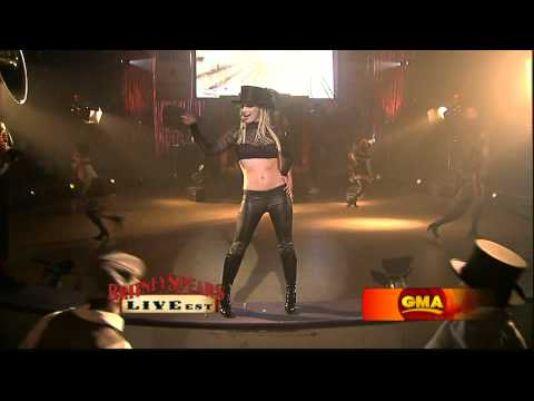 Britney Spears - Circus Live on Good Morning America GMA HD 1080p