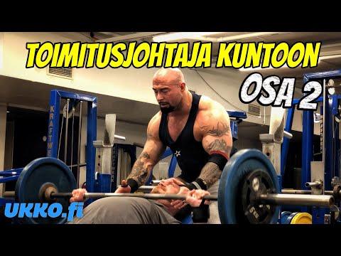 TOIMITUSJOHTAJA KUNTOON OSA 2 - UPDATE JA TREENIT!