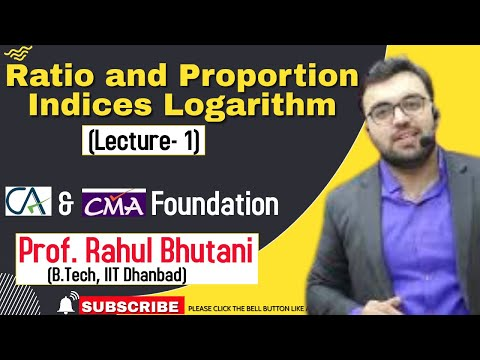 video Business Mathematics & Statistics New By RAHUL BHUTANI CA Foundation Regular COC