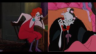 Madame Medusa yells at Cruella De Vil / Disney Crossover