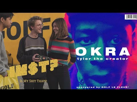 Tyler, The Creator - OKRA: STREET REACTIONS at GOLF WANG store