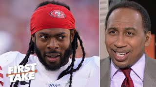 Stephen A. ranks the 49ers as his top NFL team, no matter what Richard Sherman says! | First Take