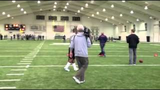 VIDEO: Michigan State football NFL Pro Day