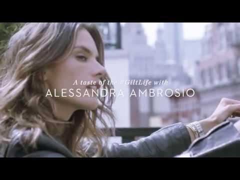 Alessandra Ambrosio on the #GiltLife