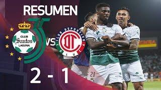 Santos 2-1 Toluca | Final Ida - Clausura 2018