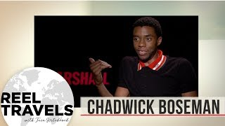 When you can't interview Chadwick Boseman in person, you 'fake news' it!