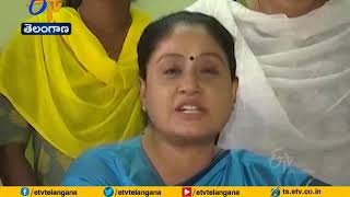 Vijayashanti on KCR government over corona cases..