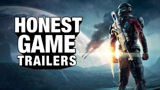 MASS EFFECT: ANDROMEDA (Honest Game Trailers)