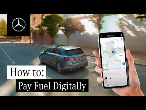 How to Pay for Your Fuel Digitally with Mercedes me