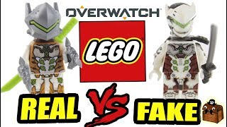 Overwatch LEGO Fake vs Real LEGO Minifigures