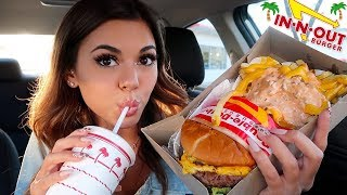 In-N-Out Mukbang! Animal Style Double Double & Fries (+our dirty airBNB)