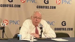 Jim Boeheim postgame news conference after Syracuse basketball vs Georgetown (2017)