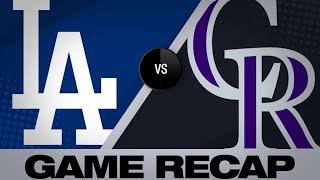 Bellinger, Maeda lead Dodgers past Rockies - 4/5/19