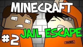 """Minecraft -  """"Jail Escape"""" Part 2: Bed Parkour"""