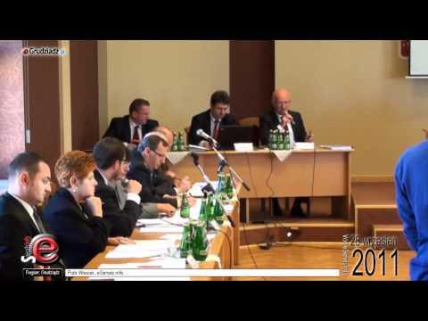 XV Sesja Rady Miejskiej Grudziądza