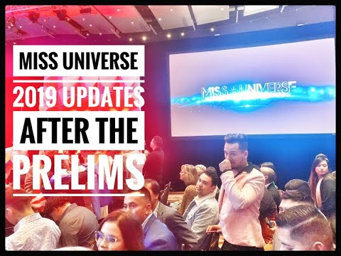 MISS UNIVERSE 2019 UPDATES AFTER THE PRELIMINARY#missuniverse#missuniverso