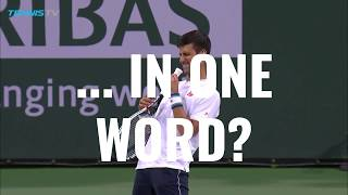"""Tough... elastic!"" - ATP stars describe Novak Djokovic in one word!"