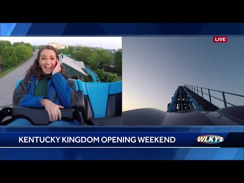 Kentucky Kingdom opens for its 34th season