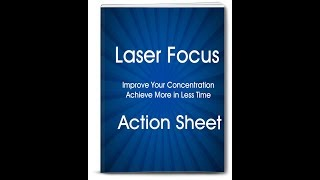 Learn How to Improve Focus and Concentration