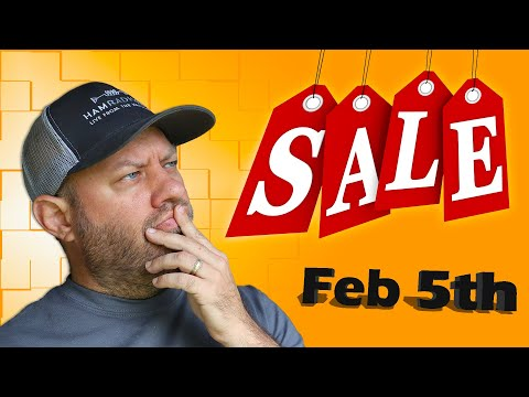Ham Radio Shopping Deals for February 5th