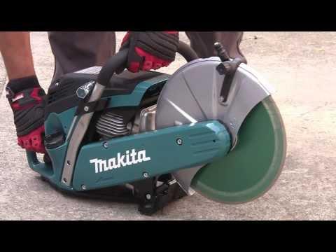 Makita EK6100 Disc Cutter 2 Stroke Petrol Stone Cutter 61cc 12 Inch Blade