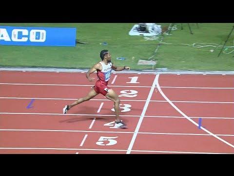 Eric Cray records 50.21 seconds, defending his 400m hurdles crown in athletics   2019 SEA Games