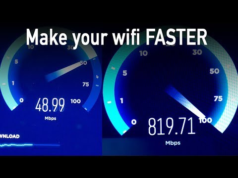 Make your WiFi Faster (AT&T router can't handle 1000 mbps)