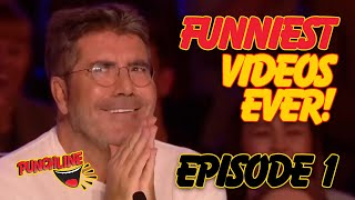 FUNNIEST VIDEOS EVER  Episode 1 Got Talent STAND UP COMEDIANS VS COMEDIAN MAGICIANS