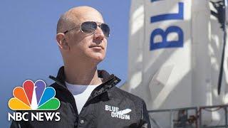Watch: Jeff Bezos, Blue Origin Crew Launch Into Space   NBC News