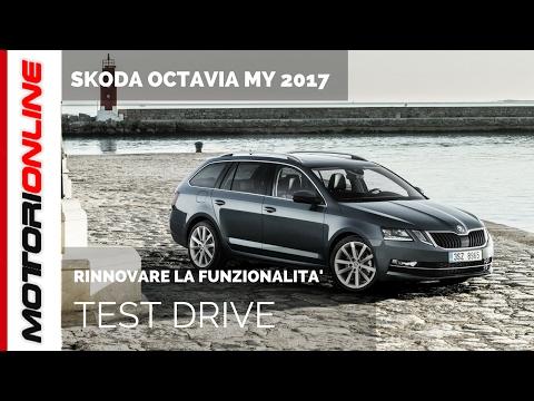 Skoda Octavia MY 2017 | Test drive in anteprima