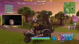 Jay's Fortnite stream with Tyler Joseph - Game 7 (Jenna)