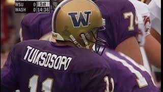 Football: WSU @ UW Apple Cup - 11/20/99