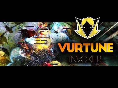 VURTUNE Invoker Dota 2 - EPIC COMBO REFRESHER CATACLYSM - Dota 2 Invoker