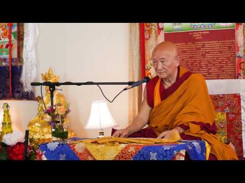 Gyumed Khensur Rinpoche Lobsang Jampa: The Easy Path, Part 2