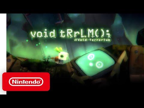 Void Terrarium - Release Date Announcement - Nintendo Switch