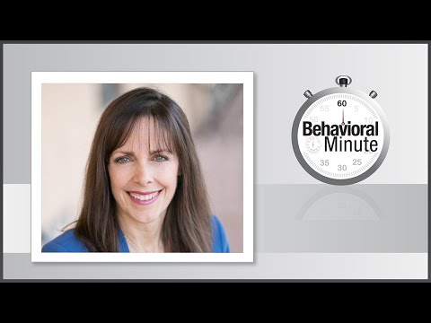 Behavioral Minute: Engagement and Safety