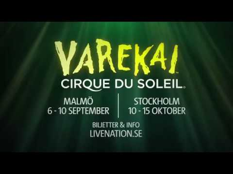 Cirque du Soleil - Varekai - Malmö och Stockholm sept-okt 2017