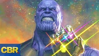 How Strong Is Marvel's Thanos Without The Infinity Gauntlet?