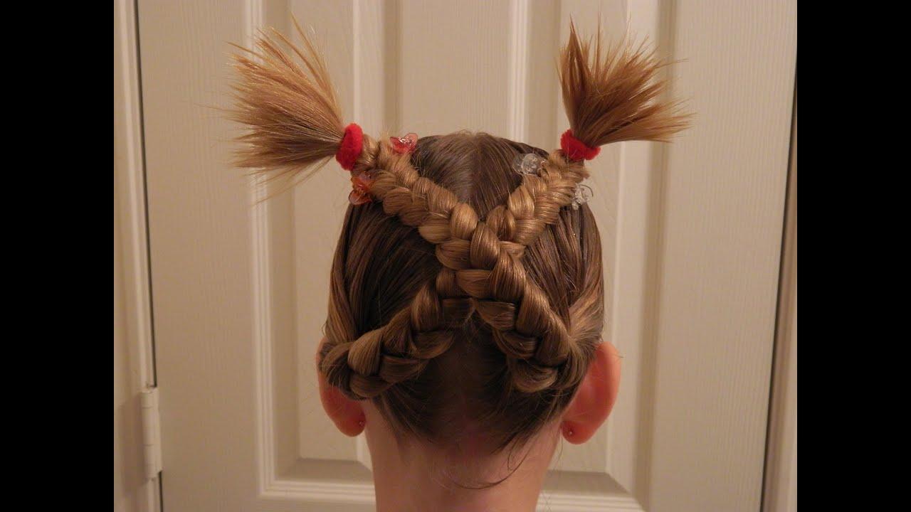 Movie Character Braid Cindy Lou The Grinch Bonita Hair