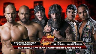 The Briscoes Win The ROH World Tag Team Titles At Final Battle