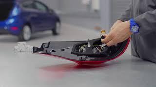 Come sostituire la lampadina delle luci posteriori | Ford Italia