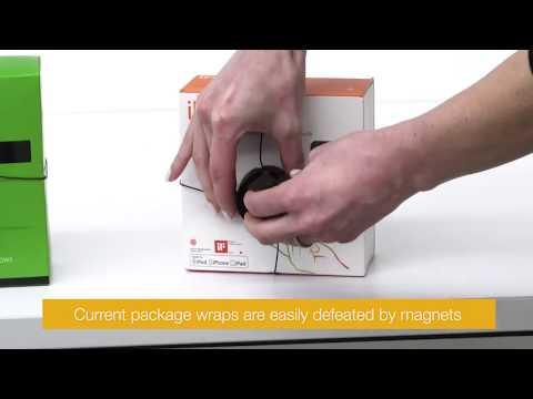 Varularm från Gate Security - InVue IR Small Package Wrap