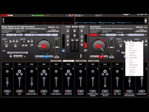 VIRTUAL DJ | mezcla de electronica 2013 para fiestas :D