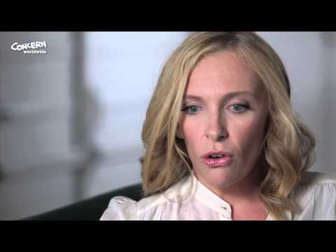 Award-winning actress and Concern Worldwide supporter Toni Collette talks about her experiences a mother and why she supports our work