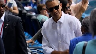AP-Obama addresses Cuban people in last day of trip..
