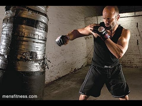 Fit For Less >> Jason Statham Workout - YouTube