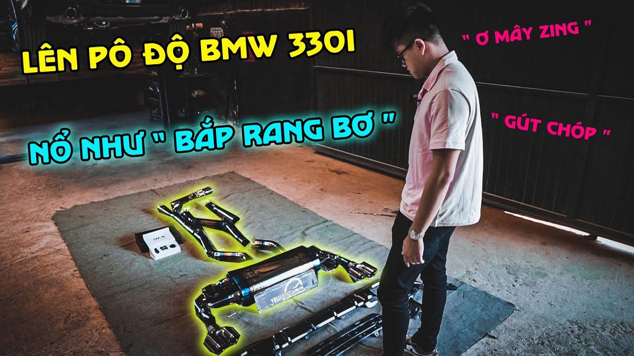 Lên cây pô Titanium Đầu tiên ở SG cho BMW 330i G20