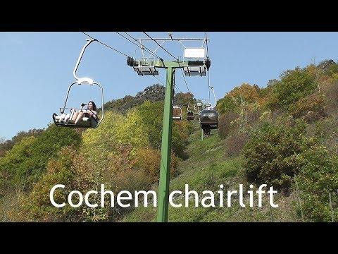 GERMANY: Cochem chairlift - Sesselbahn [HD]